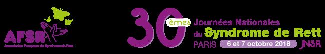 30èmes Journées Nationales du Syndrome de Rett Logo